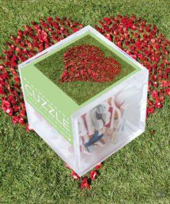 Puzzle amour en boîte cubique