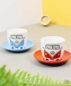 Coffret 2 Tasses Expresso Combi Volkswagen